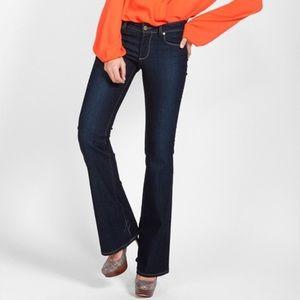 PAIGE  Skyline Boot Michelle Dark Wash Jeans 27
